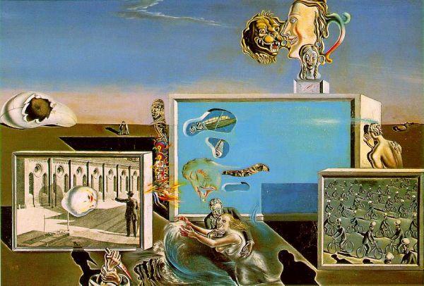 宇宙出身の元芸術家が好きな絵③サルバドール・ダリ作 「Illumined Pleasures」