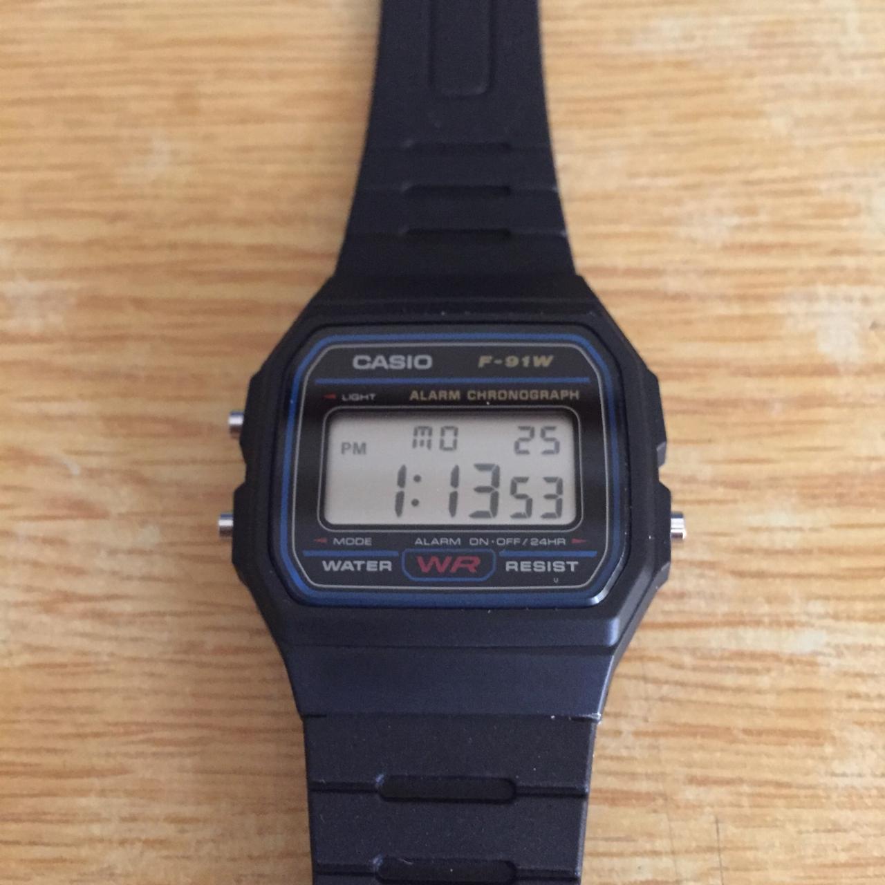 最低にして最高の腕時計!ビンラディンモデルことチープカシオF-91Wを入手