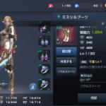 LV81 また赤背景装備か(´・ω・`)