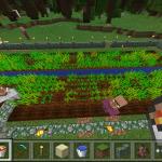マイクラPEプレイ日記#5 村っぽくなってきた(・・;)【Minecraft PE】