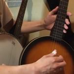 バンジョーにバイオリンのミュート