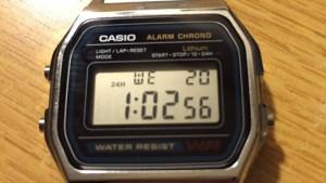 最強の腕時計はこれだ!!テロリスト御用達チープカシオ